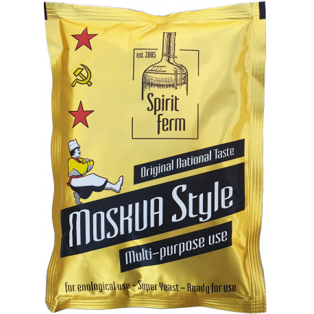 Distillers yeast Moskva Style Moscow 20% HARD Moscow