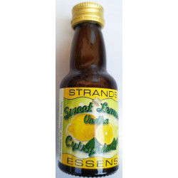 LEMON FLAVORED STRANDS mortar - 25 ml. for 0.75 ml vodka.