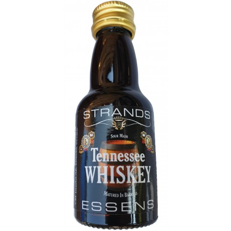 STRANDS TENNESSEE WHISKY - 25 ml. auf 0,75 ml. Wodka