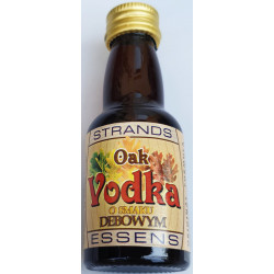 OAK Flavor STRANDS mortar - 25 ml. on 0.75 ml. vodka.