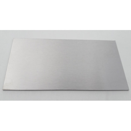 Sheet stainless 316L 2MM 20x20CM