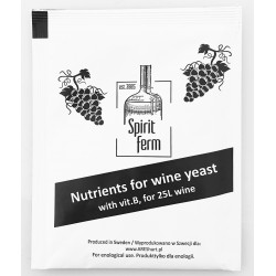 Bayanus G995 wine yeast for 25-50 liters of wine: